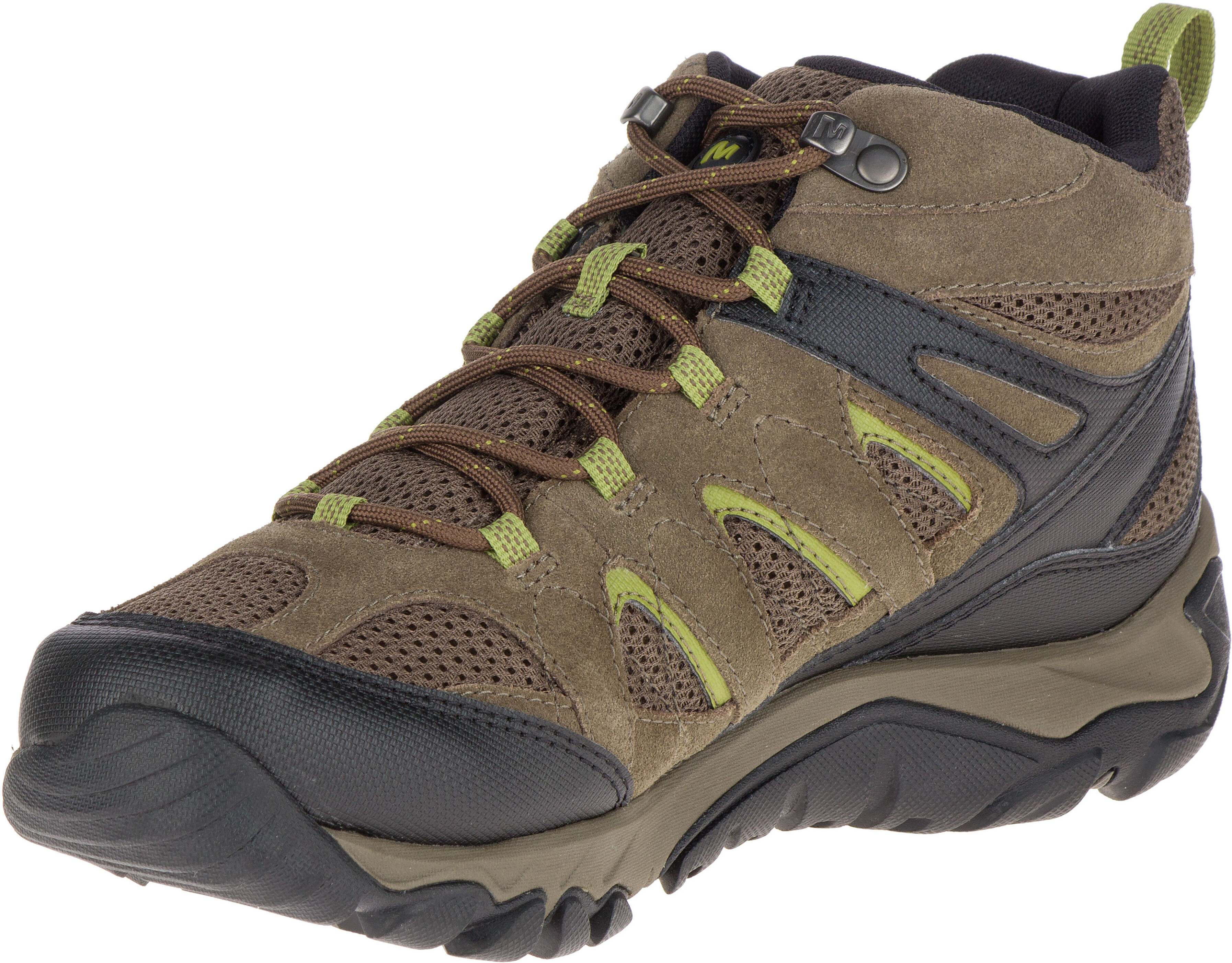 Merrell Outmost MID Vent GTX - Chaussures Homme - marron sur CAMPZ ! 0e1ee13edc25